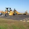New Orleans Lakefront Airport Hurricane Katrina Damage Repair - Airfield Drainage Repair and Pavement Joint Seal: Repairing and replacing airfield drainage, repairing cracks, replacing pavement along taxiways and tarmac and resealing joints in concrete tarmac.